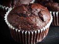 Рецепта Мъфини с какао и шоколад
